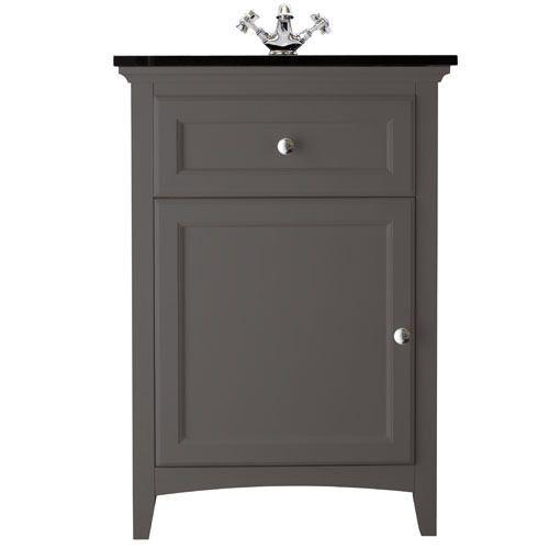 Savoy Charcoal Grey single door - with Granite top