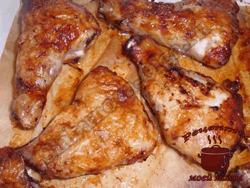 Фаршированные куриные окорочка