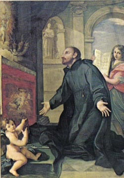 Saint Francis Caracciolo pray for us and Naples, Italy and Italian cooks.  Feast day June 4.