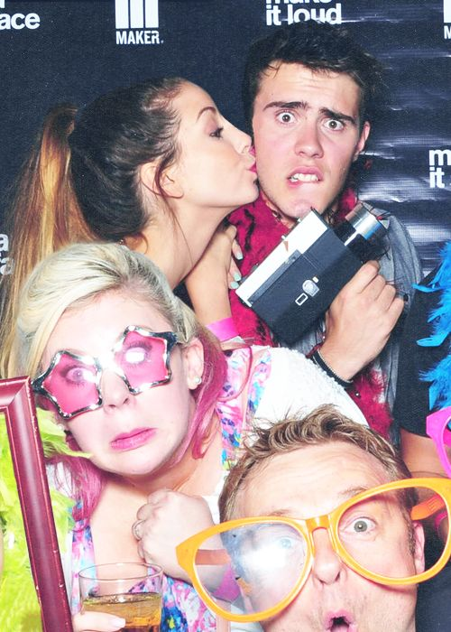 Zoe, Alfie, Louise and i think Marcus?
