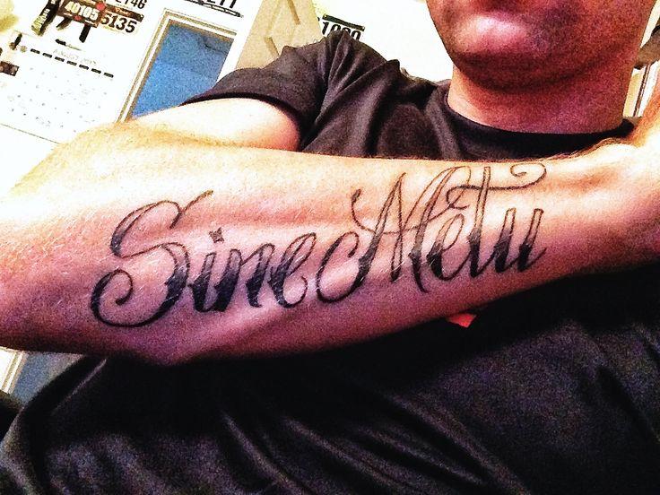 Sine metu without fear jameson jamison family motto for Family motto tattoos