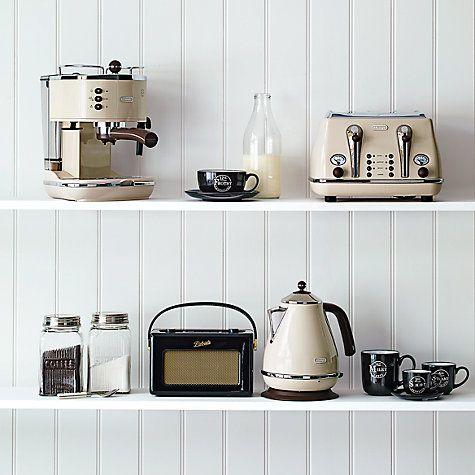 Buy De'Longhi Vintage Icona Kettle Online at johnlewis.com