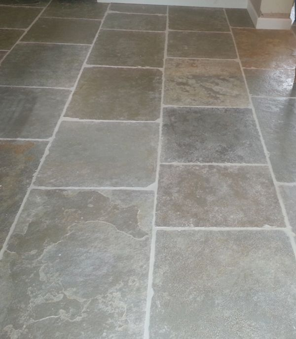 Umbrian Limestone Flags From Floors Of Stone This One Is