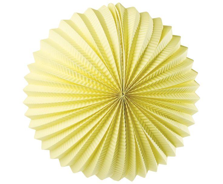 An bunten Lampions kann man sich nicht satt sehen! Das Label Miss Ètoile streift dem Dekorations-Klassiker nun ein mädchenhaftes Design über und so zieren das Modell LANTERN zarten Eiscreme-Nuancen. Rund und gefächert ist das Element die optimale Party-Deko und kann einzeln oder mit weiteren Stücken der selben Linie kombiniert werden. Sorgen Sie für das perfekte Fest und entscheiden Sie sich für die Papierkugel LANTERN.