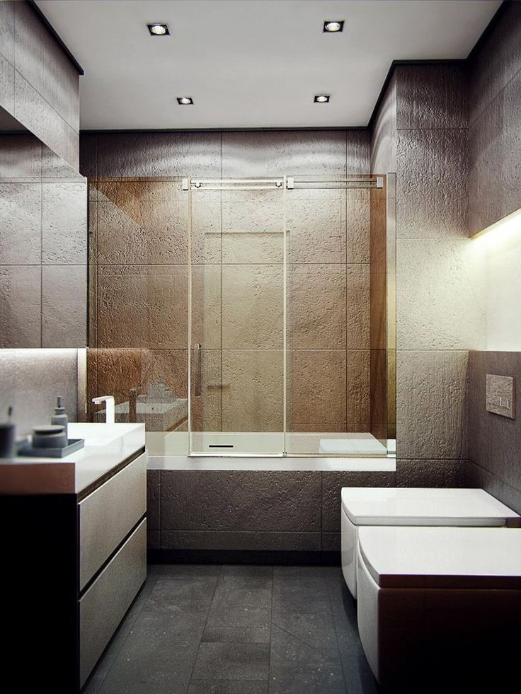 шершавые стены ванная
