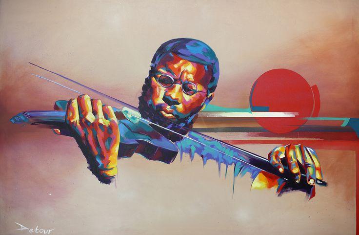 Jazz violinist - Charles Coleman