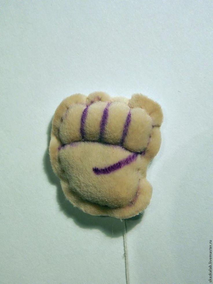 21 Главное помнить, что каждый пальчик должен быть ограничен ниточками как с лицевой, так и с изнаночной стороны!