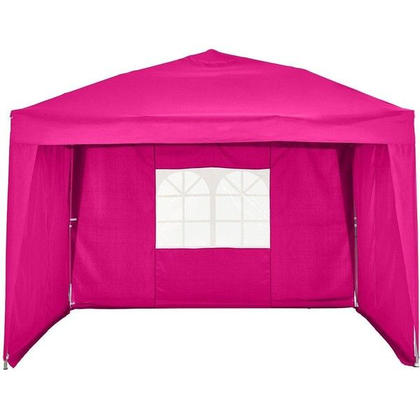 2.5 X 2.5M Pop Up Gazebo Side Panels Only ($49) ❤ liked on Polyvore featuring home, outdoors, outdoor decor, window panels, garden decor and outdoor garden decor