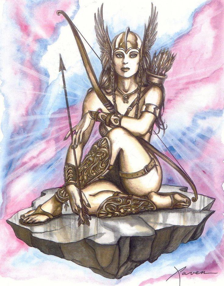 Diosa nórdica del amor. Casó con Odin y juntos practicaron la magia.. #Freyja https://vademedium.wordpress.com/2015/02/08/las-flechas-de-los-dioses-evocando-al-amor/