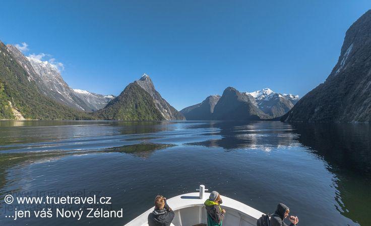 Plavba po Milford Sound, Fiordland, Nový Zéland #NewZealand #cestovani #travel