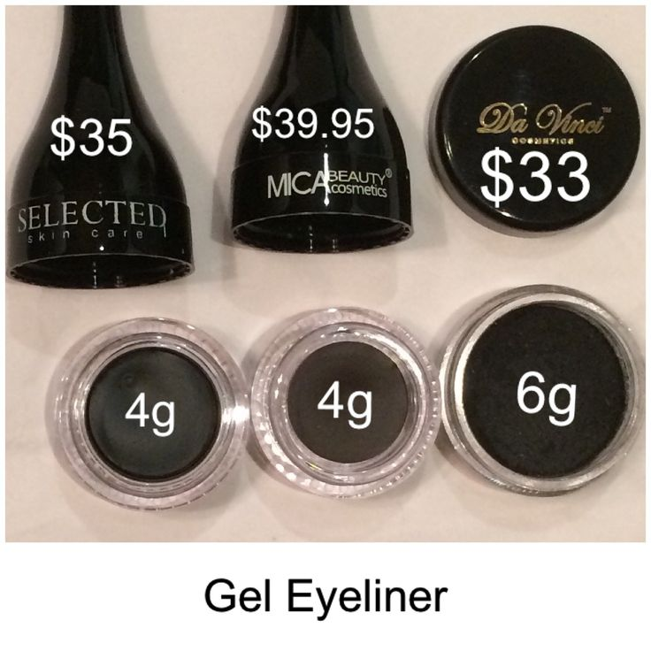 With Da Vinci Cosmetics you get more minerals and pay less than other mineral makeup brands that you more and get less qty.