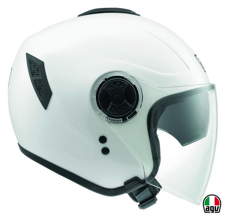 AGV Fiberlight - Mono White