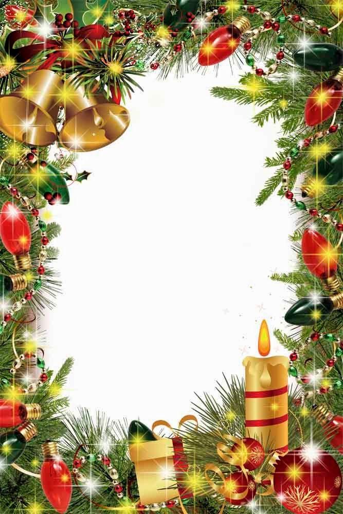 Christmas frame | land frame