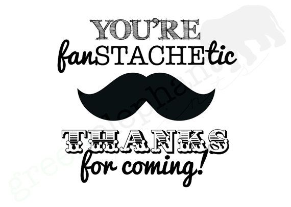8x10 fanSTACHEtic Mustache Bash / Little Man Birthday Party or Baby Shower Printable Sign INSTANT DOWNLOAD