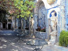 EuroTravelogue™: The Palacio Fronteira in Lisbon, Portugal — a Rousing Hymn to the Color Blue