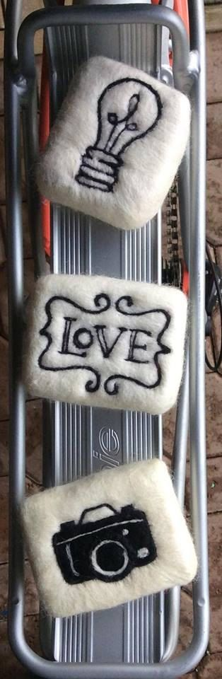 Natural Handmade Felted Soap by UnicornSparkleSoap on Etsy