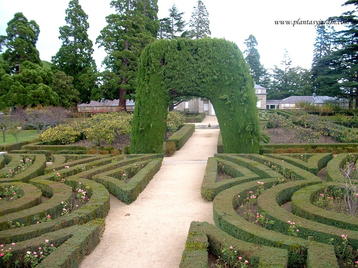 14 best parterres images on pinterest gardens for Jardines del escorial