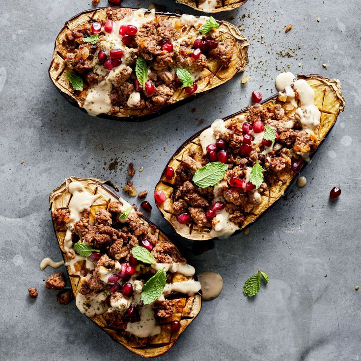 Stuff Eggplant with Beef for an Easy-Clean-Up Dinner ...