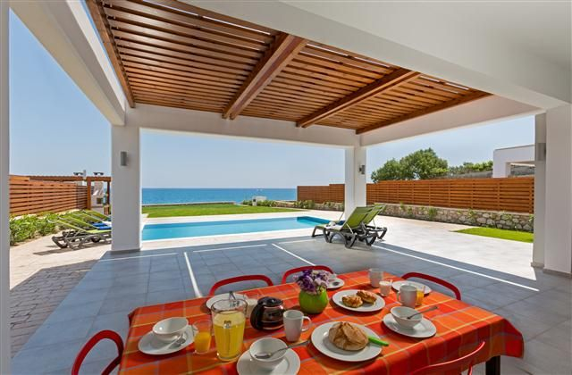 3 Bedroom Villa in Rhodes to rent from £744 pw. With jacuzzi, balcony/terrace, air con, TV and DVD.