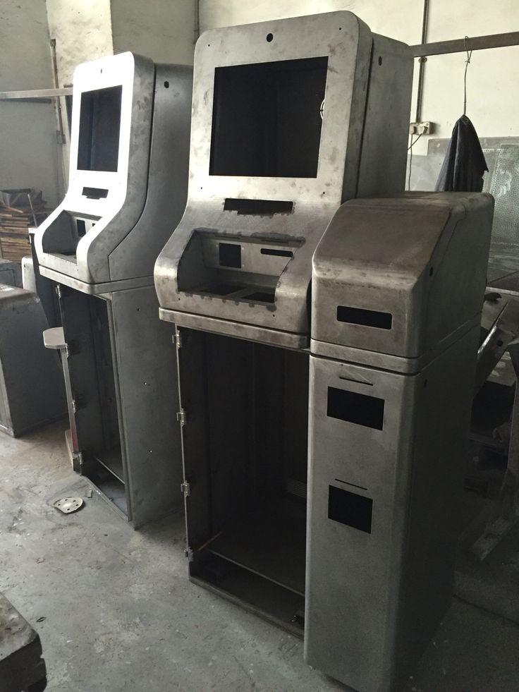 Payment kiosk in progress