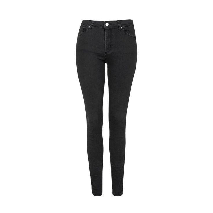 """Nothing says """"meeting the family"""" like a pair of simple, unfussy black skinny jeans."""