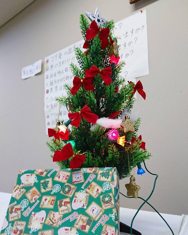 サンタクロースからクリスマスプレゼントが届きました✨ありがとうございました✨✨ #東亜和裁 #東亜和裁クリスマスイルミネーション2017  #東亜和裁クリスマス2017  #クリスマスツリー  #静岡 #プレゼント