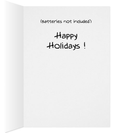 Funny Christmas Cards: Christmas Drums Card