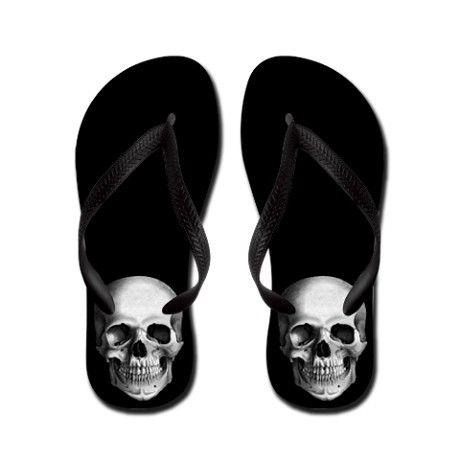 ☆ Skull Flip Flops ☆