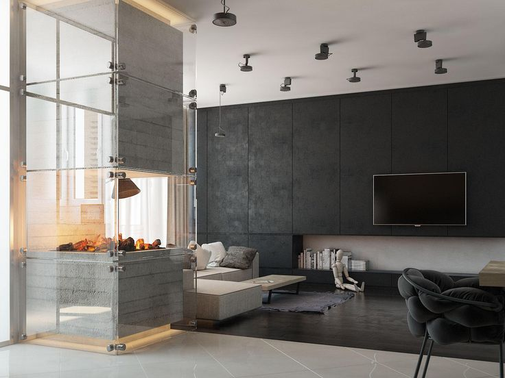 4 Modern Homes With Amazing Fireplaces and Creative Lighting