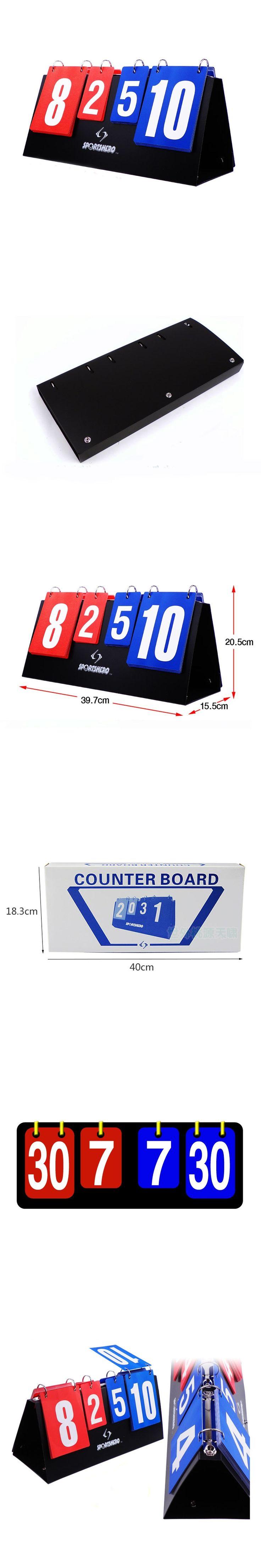 Portable basketball Score board 4 digit Sports scoreboard for volleyball table tennis handball badminton scoring Wholesale