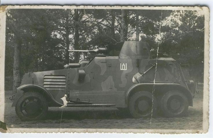 Lithuanian landsverk armoured car