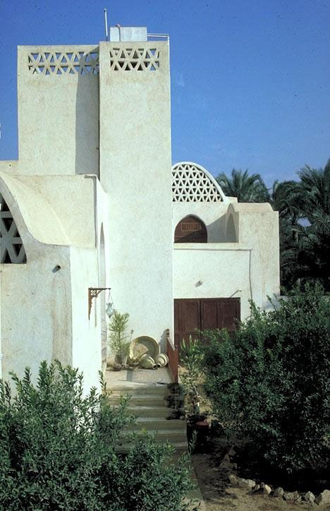 Akil Sami house, Egypt. Architect Hassan Fathi