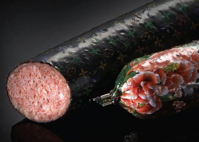 Louis Vuitton salami