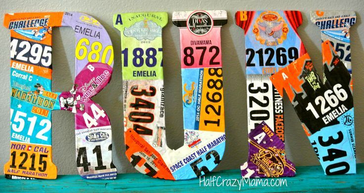 Race Bib Ideas