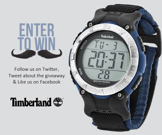Nice watches and a chance to win this timberland watch