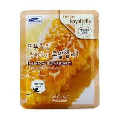 3W Clinic Mask Sheet - Fresh Royal Jelly 10pcs Skincare
