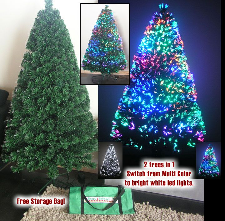 Artificial Christmas Tree: Fiber Optic 6 ft http://artificial-christmas-tree.com
