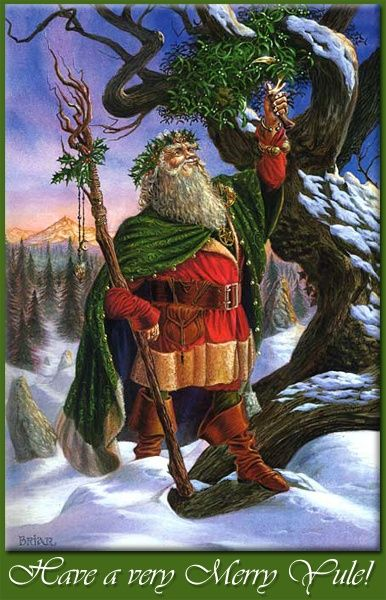 Winter Solstice:  The Holly King, at the #Winter #Solstice.