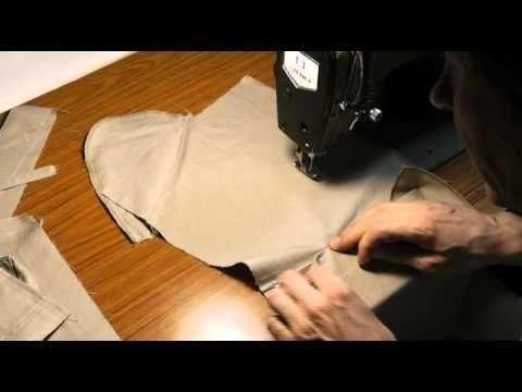 Как изготовить гульфик в брюках или юбках.