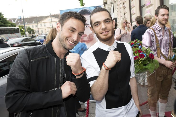 Elnur and Måns: Building Bridges and making friends   News   Eurovision Song Contest