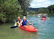 Kanuschule Noris :: Einsteigerkurse Kajak in der Hersbrucker Schweiz