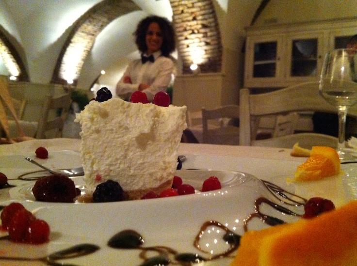 cheesecake and staff