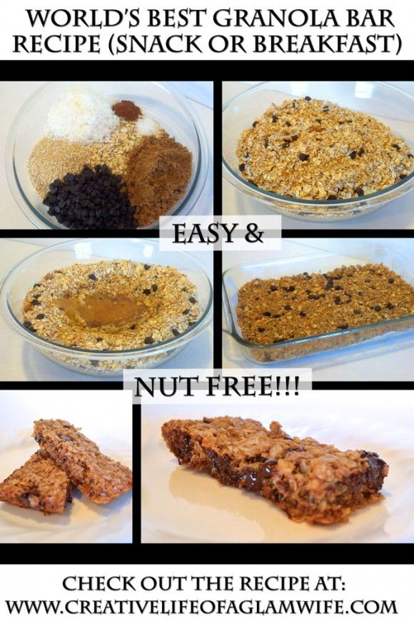 Easy granola bar recipe honey