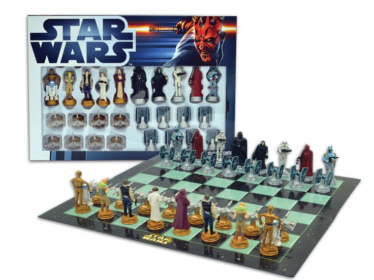 Best gifts for 8 year old boys - Star Wars Chess Set | Cool Mom Picks