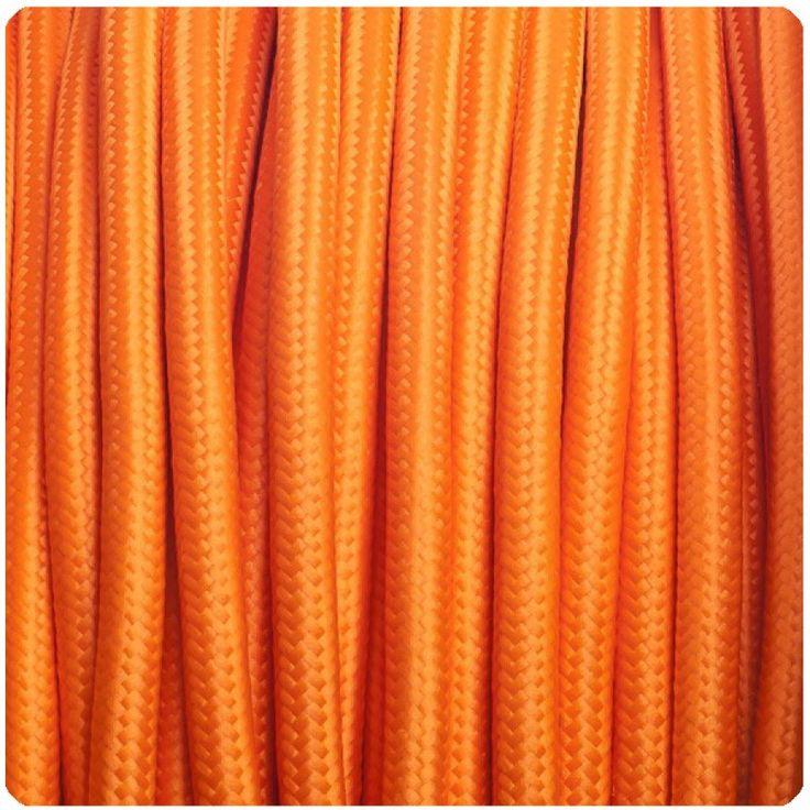 Naranja Cable Textil