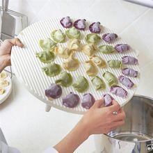 Пластиковые Клецки Тесто Для Выпечки Хранения Держатель Лотка Stackable Кухня Холодильник Организатор Экономия Пространства Хранения Стойку(China (Mainland))
