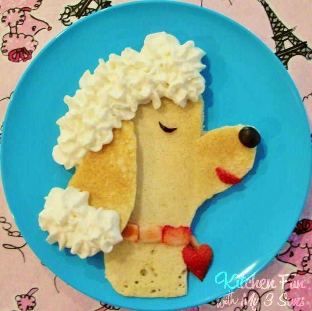 Pancakeart Poodle Pancakes