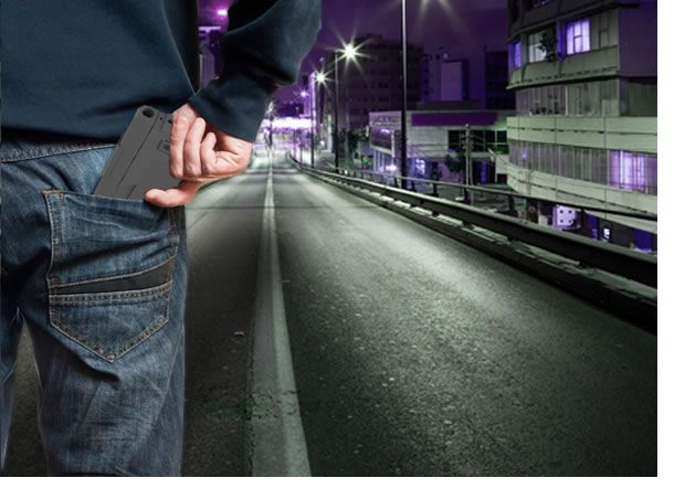 #IdealConceal, cell phone shaped double barreled .380 caliber handgun.