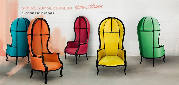 BRABBU | Design Forces - Modern Home Furniture, Spring Summer Color Trends 2014