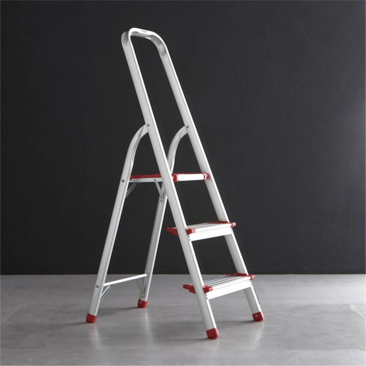Polder® 3-Step Ladder  | Crate and Barrel